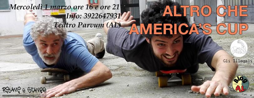 Altro che America's Cup - 1 marzo - l'evento su Facebook