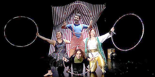 Bádelèn il circo dei sogni – 8 aprile 2018. Borgo del Teatro – video