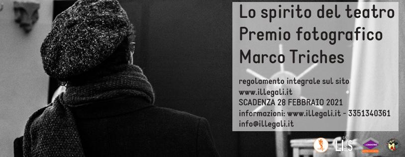 Aggiornamento e scadenza concorso fotografico Lo spirito del teatro. Premio Marco Triches