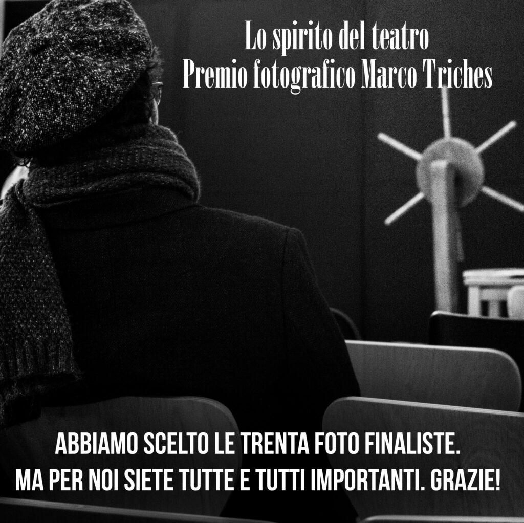 Scelte le finaliste del concorso Lo spirito del teatro. Premio Marco Triches