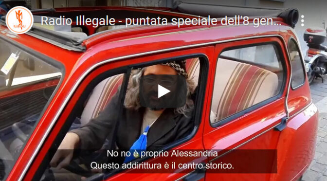 Radio Illegale – puntata speciale dell'8 gennaio 2021 con l'Architetto Meier