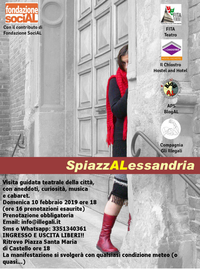 SpiazzALessandria - Borgo del Teatro 10 febbraio 2019