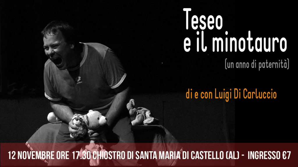 Teseo e il minotauro - 12 novembre 2017