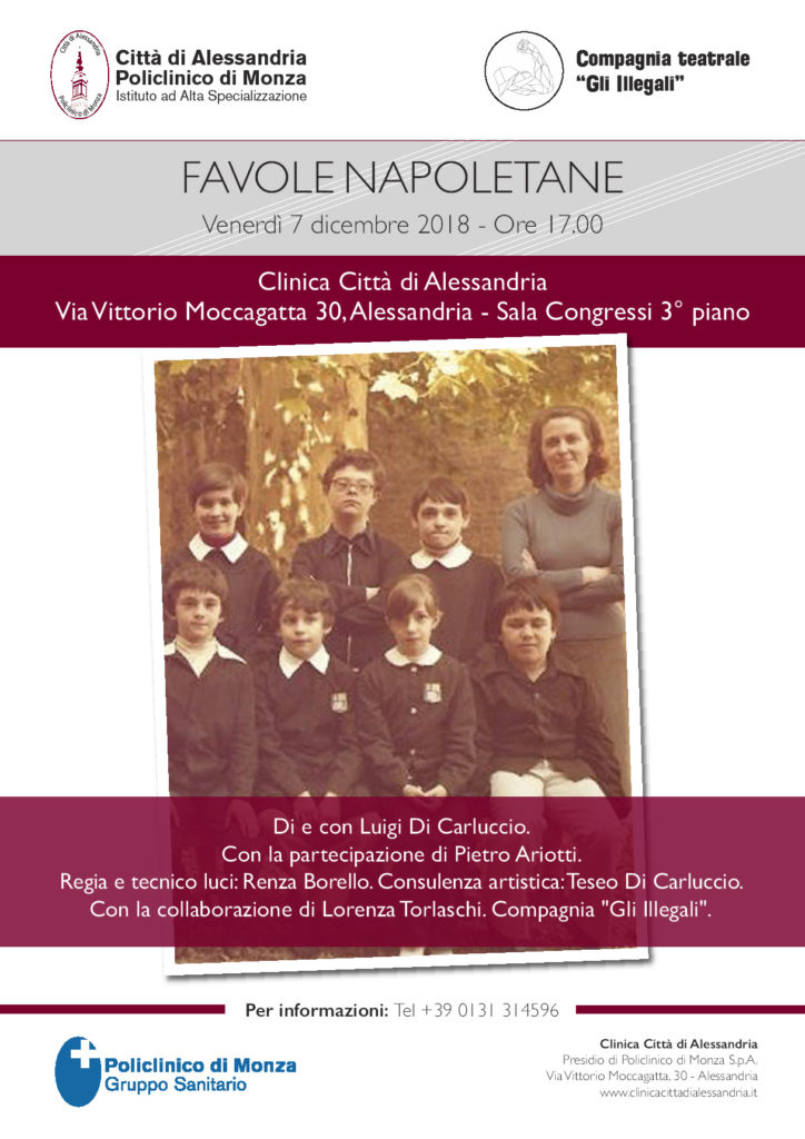 Favole napoletane - 7 dicembre 2018