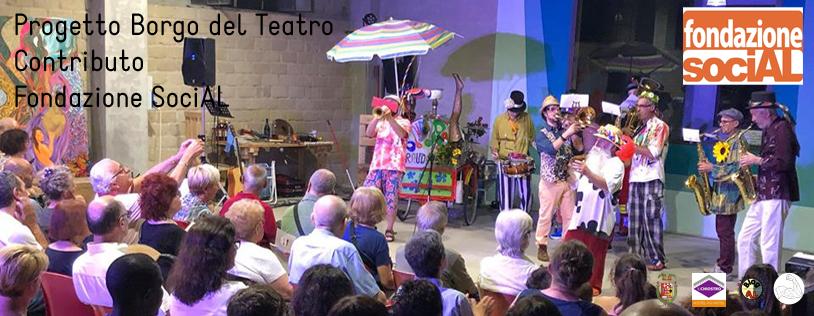 Borgo del teatro - Rassegna chiostro in una notte di mezza estate
