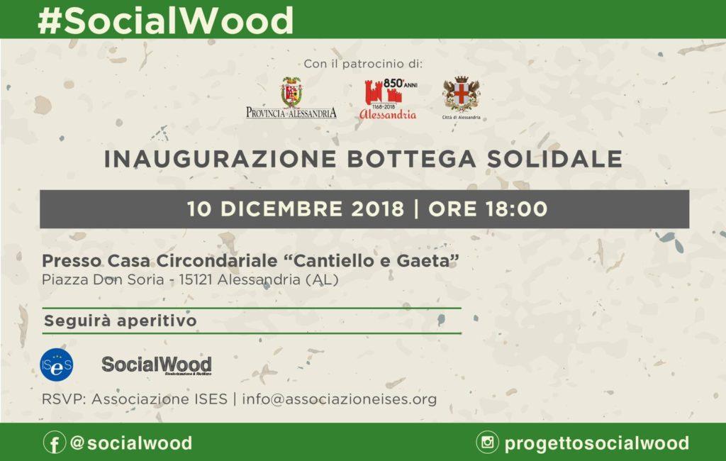 Inaugurazione bottega solidale - 10 dicembre 2018