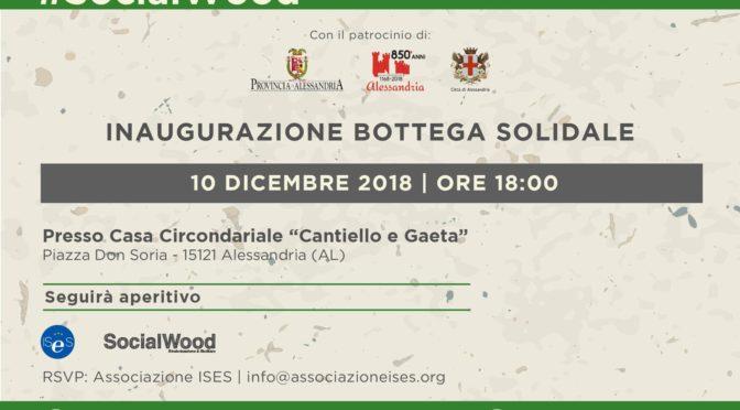 Inaugurazione bottega solidale – 10 dicembre 2018