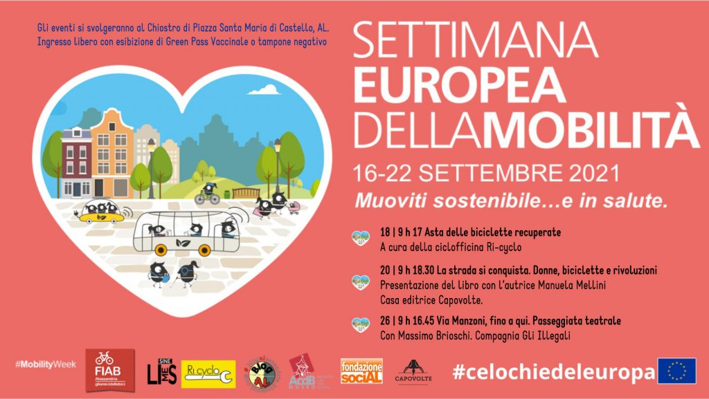 Settimana europea della mobilità 2021!!